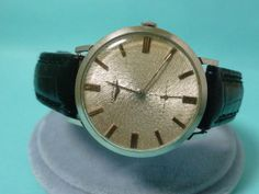 SALE Vintage Longines Wristwatch Guilloche by ChicagoGirlVintage, $425.00
