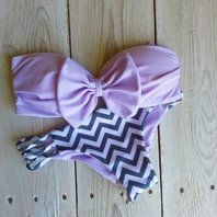 Bow Bathing suit. I don't normally go for a bikini, but this is adorable.