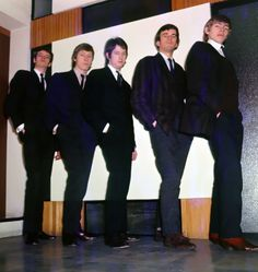 The Yardbirds with Eric Clapton pose for a portrait in 1964 in England