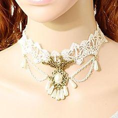 collar de la perla del cordón de la moda europea