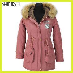 e97bfbf1a6b05 Autumn Parkas Winter Jacket Women Coats Female Outerwear Casual Long Down  Cotton Wadded Lady Woman Fashion