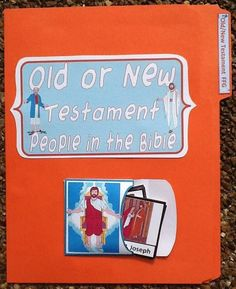 Old or New Testament FFG to use with the Pocket Chart Bible people printables
