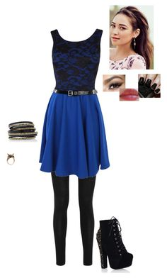 """""""What?"""" by sarah-narnia ❤ liked on Polyvore featuring Donna Karan, LK Designs and Accessorize"""