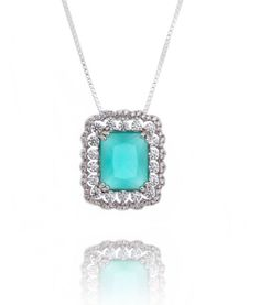 colar prata pingente turmalina semi joia luxo https://www.waufen.com.br/