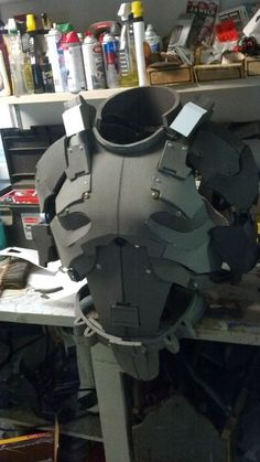 How to make foam armor.