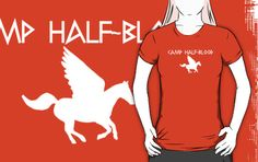 Camp Half-Blood - White Logo by katemonsoon someone please buy this for me!!