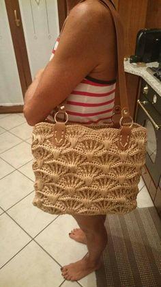 Crochet summer bag