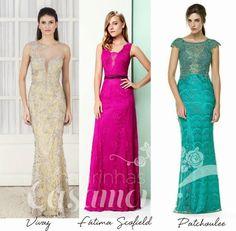 Madrinhas de casamento: Vestido de Renda!