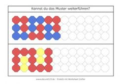 Muster und Wendeplättchen | Unterrichtsmaterial für die Grundschule ...