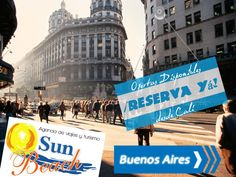 ¿Buscas Hoteles en buenos aires? Reserva HOY una Super Oferta con tiquete aéreo. Desde #Cali  o en www.sunbeachcali.com