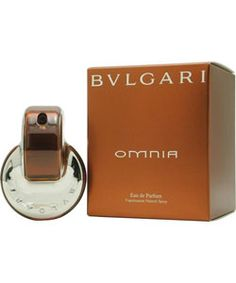 Favorite fragrance.  - Bvlgari Omnia fragrance was launched in 2003Feminine scent is recommended for evening wearWomen's perfume possesses a blend of woodsy and floral aromashttp://www.overstock.com/Health-Beauty/Bvlgari-Omnia-Womens-2.2-ounce-Eau-de-Parfum-Spray/2738174/product.html?CID=214117 $45.94