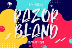 Razor Bland is a classy handwritten font. Whether you're looking for fonts for Instagram or calligraphy scripts for DIY projects,... Cool Fonts, New Fonts, Creative Fonts, Script Font Style, Graffiti, Alphabet, Vintage Fonts, Vintage Typography, Cricut Tutorials