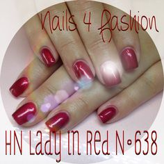 Hollywood Nails Lady in Red Nails 4 Fashion