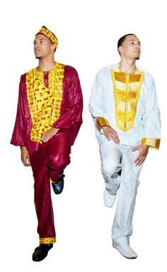 Ethnic men's attire by TeKay Designs