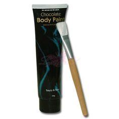 Body Paint - Sjokolade fra Lyst-lek. Om denne nettbutikken: http://nettbutikknytt.no/lyst-lek/