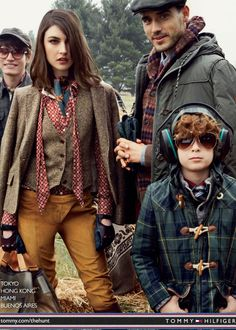 Tommy Hilfiger Campaign FW - Toni Garrn, Tao Okamoto, Jacquelyn Jablonski and Others by Craig Mcdean Countryside Fashion, Country Fashion, Preppy Mode, Preppy Style, Country Wear, Country Outfits, Tommy Hilfiger, Tao Okamoto, Hunting Clothes