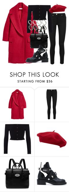 """Untitled #2682"" by mariie0h ❤ liked on Polyvore featuring Versace, River Island, Goorin, Mulberry, Balenciaga and ASOS"