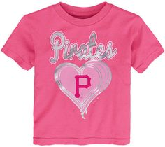 5c7d651e Outerstuff Pittsburgh Pirates Unfoiled Love T-Shirt, Toddler Girls (2T-4T)  & Reviews - Sports Fan Shop By Lids - Men - Macy's