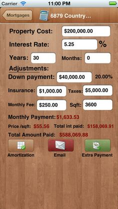 Mortgage Calculator  Extra Payment  Amortization By Mobile