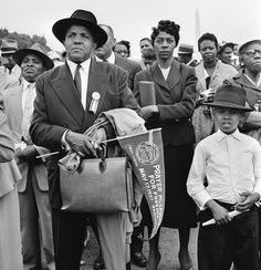 [LIFE photo]1957 Prayer Pilgrimage for Freedom