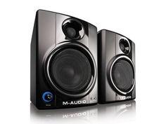 Price: $117.00 M-Audio Studiophile AV 40 Active Studio Monitor Speakers (Pair)  #M-AudioStudiophile #StudioMonitorSpeaker #Cheap #Affordable #Recording