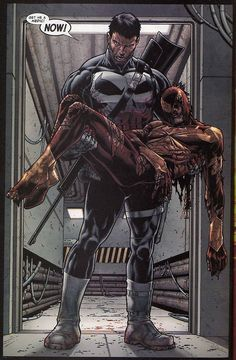 "Punisher / Iron Spider-Man by Steve McNiven #SUPERHEROS, ✮✮Feel free to share on Pinterest"" ♥ღ #UNOCOLLECTIBLES"
