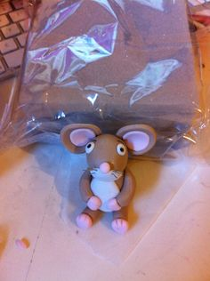 How to make a Gruffalo mouse from BronnieBakes