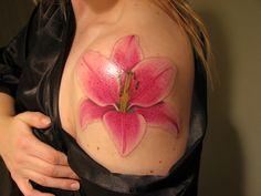 Wallpapers : Latest Lily Tattoo Designs For Women Orchid Flower Tattoos, Hawaiian Flower Tattoos, Floral Tattoos, Tattoo Flowers, Butterfly Tattoos, Lily Tattoo Meaning, Tattoos With Meaning, Cute Tattoos, Girl Tattoos