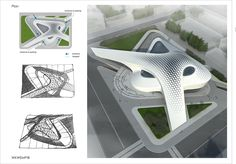 A shopping mall project on Behance