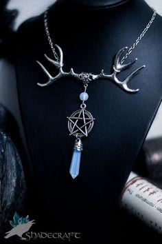 Magic Mascot Wiccan Necklace https://www.etsy.com/shop/shadecraft