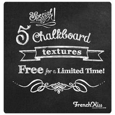Collection of 5 high-resolution chalkboard inspired textures from Frenchkiss - FREE Chalkboard Texture, Chalkboard Fonts, Chalkboard Ideas, Pastel Photography, Photography Tutorials, Scrapbooking Freebies, Digital Scrapbooking, Photoshop Tutorial, Photoshop Help
