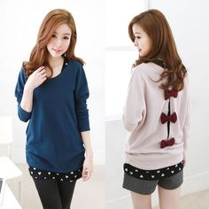 """Korean sweet bow knitted sweaters. Use this coupon code """"playbanovici"""" to get all 10% off!"""
