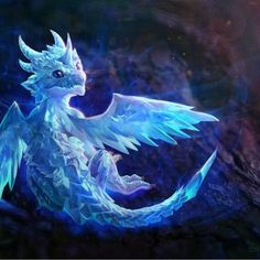 """This is my dragon, Ice Blast... no... more like best friend."" -Emily"
