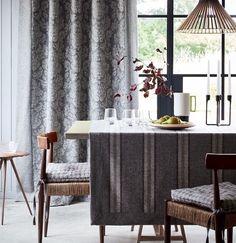 Grey Dining Room | #GreyDiningRoom