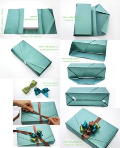 gift wrapping -Neat gift wrapping - Creative gift wrapping ideas for different parties. Detalles DIY – Geschenke mal anders verpackt How to Tie a Bow Using Custom Logo Ribbon for Corporate Gifts and Events George & Viv Holiday Gifting Bar Soap Japanese Gift Wrapping, Japanese Gifts, Present Wrapping, Creative Gift Wrapping, Creative Gifts, Wrapping Ideas, Gift Wrapping Techniques, Furoshiki, Diy Cadeau