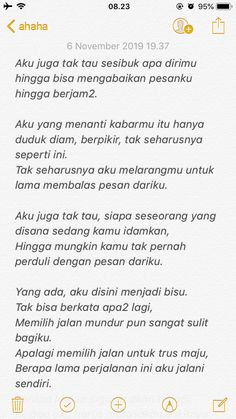 Quotes Rindu, Today Quotes, Reminder Quotes, Love Life Quotes, Text Quotes, Some Quotes, Crush Quotes, People Quotes, Quotes Lockscreen