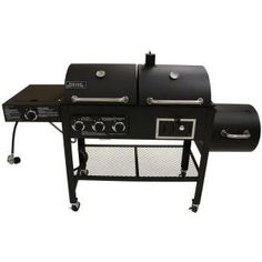 Smoke Hollow, Triple Function Propane Gas/Charcoal Grill and Smoker, 3500 at The Home Depot - Mobile