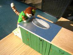 Mine dukkehuse: Findus og Peddersen laver køkken 1 - Findus and Pe...