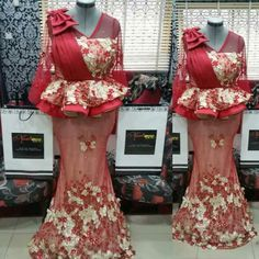 ebonyisblack: Beautiful Nigeria Lace Styles and Fashion for Owam. African Lace Styles, African Lace Dresses, African Dresses For Women, African Attire, Ankara Styles, Latest African Fashion Dresses, African Print Fashion, Lace Dress Styles, African Traditional Dresses