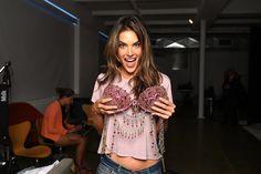This Year's Victoria's Secret Fantasy Bra Is Finally Here  Alessandra Ambrosio 2 million $ Bra.