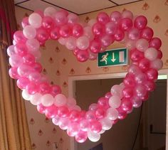 heart pink ballons | Valentine Balloons - Pink Tree Parties
