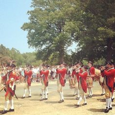 Fifes and Drums follow the reading of the Declaration of Independence on July 4th.