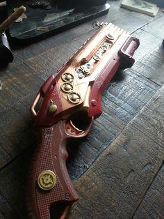Steampunk nerf gun, made on my own