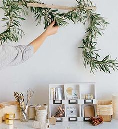 Set up a craft station at your next holiday party...