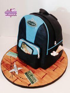 Backpack Cake.