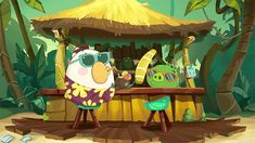 New trending GIF on Giphy. happy party drinking friday weekend bar drinks pigs matilda angry birds toons angrybirds tiki bar drink with umbrella. Follow Me CooliPhone6Case on Twitter Facebook Google Instagram LinkedIn Blogger Tumblr Youtube