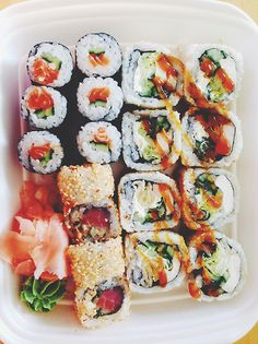 Sushi dates are the best :)
