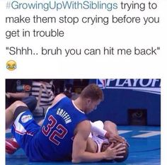 Growing Up With Siblings Humor Really Funny Memes, Stupid Funny Memes, Funny Relatable Memes, Funny Texts, The Funny, Hilarious, Funny Stuff, Funny Fails, Memes Humor