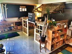 A Reggio-Inspired Classroom Design – Kinderland Tour Part 2 – inspired by play Reggio Emilia Classroom, Reggio Inspired Classrooms, New Classroom, Classroom Setting, Classroom Setup, Classroom Design, Kindergarten Classroom, Classroom Organisation, Dramatic Play Area