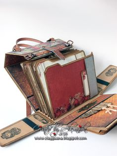 *ClayGuana: Prima Stationer's Desk for the Purse/Photo Bag Mini Album